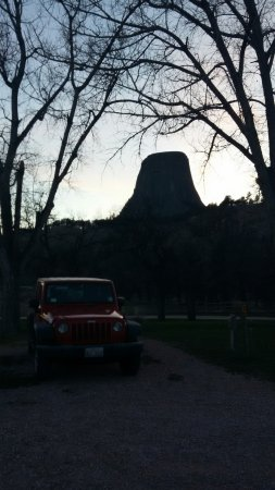 Devils Tower, WY: Nice camping spot