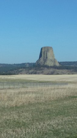 Devils Tower, WY: Heading South
