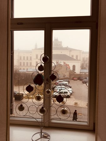 Hotel Cubo: Christmas decor