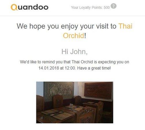 Thai Orchid Restaurant Salisbury