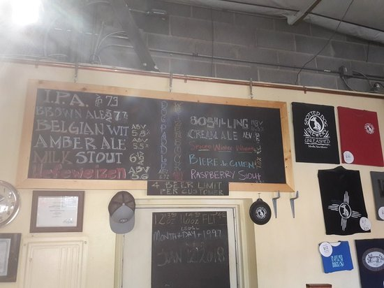 Mesilla, NM: An excellent spread of great micro brew