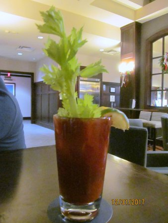 Sheraton Erie Bayfront Hotel: Bloody Mary!