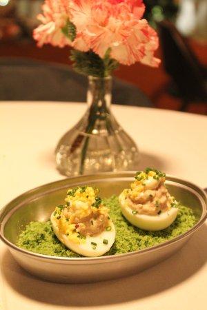 Deviled Eggs with Tuna