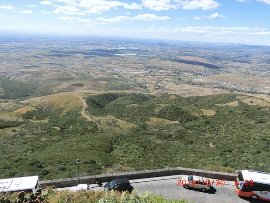 Silao, México: クビレテの丘から