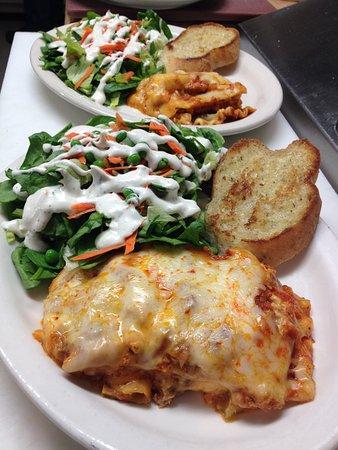 Darby, MT: Chicken Lasagna Special