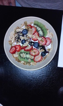 Petition: Granola with fresh fruit