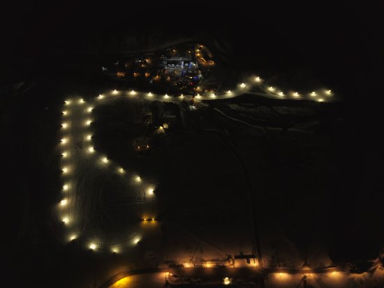 Carisolo, Italien: apertura pista in notturna..... da fare!