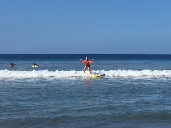 Playa Grande is a great first time surfing spot!