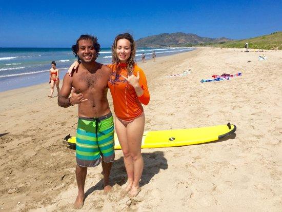 Playa Grande, Κόστα Ρίκα: Instructor Johel is a great surf instructor!
