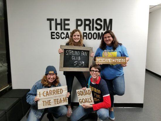 The Prism Escape Rooms: Sterling Fan Club