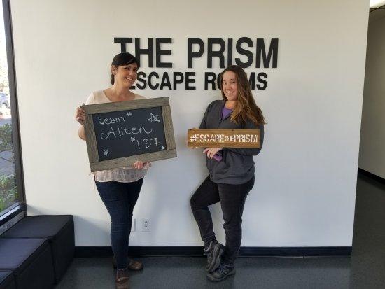 The Prism Escape Rooms: Team Aliten
