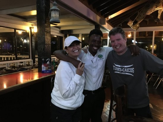 Baci Ristorante: Stanley, the bartender, made sure to say goodbye to us before we left. Thanks Stanley!