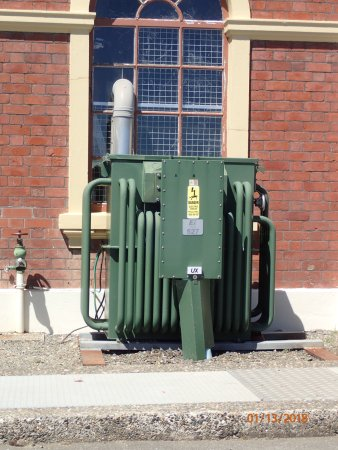 Invercargill Water Tower: compressor