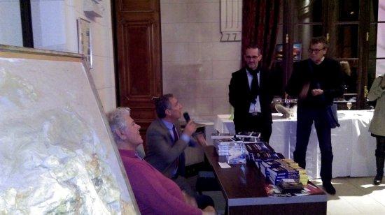 Maffliers, Frankrike: conférence et exposition