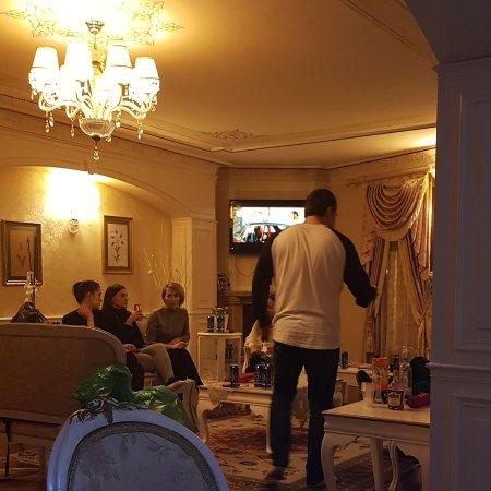 Kupeli Palace Hotel: Rus grubumuz