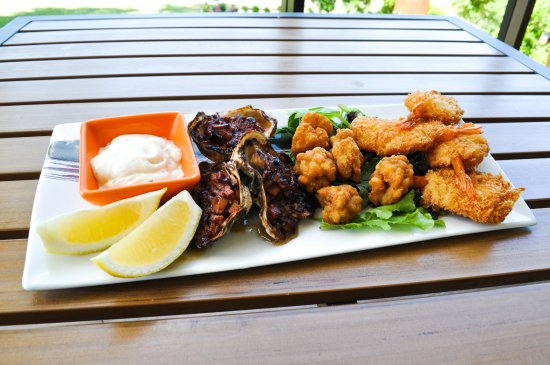 Nerang, Αυστραλία: Hot Seafood Trio