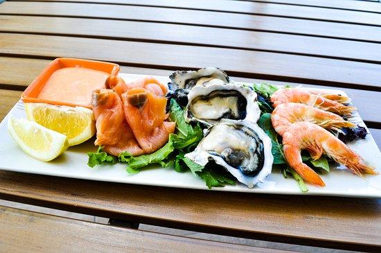 Nerang, Αυστραλία: Cold Seafood Trio