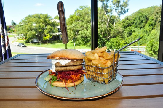 Nerang, Αυστραλία: Aussie Lamb Burger