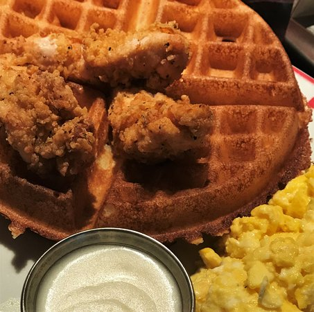 Founding Farmers: Chicken & Waffles