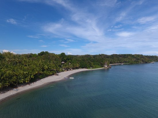 Cove Paradise Beach & Dive Resort: Eagle eye from the Resort