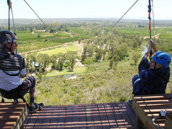 Sundays River Valley, South Africa: Ready, set, jump!
