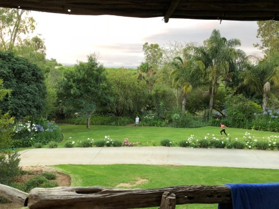 Addo, South Africa: Chalet view
