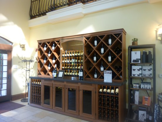 Inside the tasting room at Kendall-Jackson Wine Estate & Gardens in Fulton.