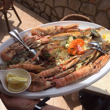 Restaurant Artatore Janja: Best shrimps