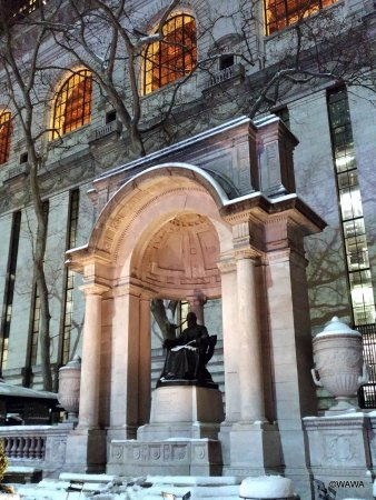 William Cullen Bryant Statue