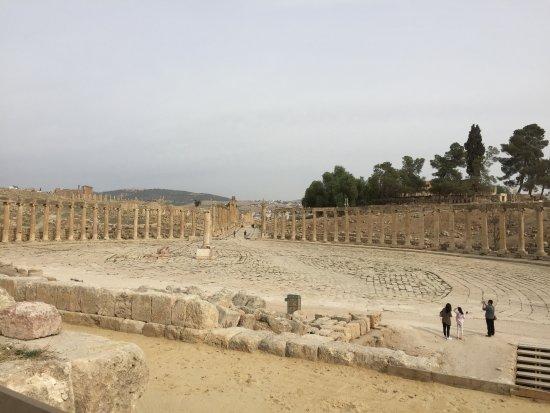 Grand place ovoide de Jerash
