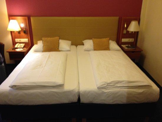 Austria Classic Hotel Wien: comodo e rigido