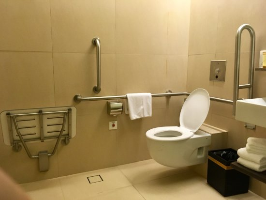Wheelchair Accessible Bathroom 385 Ramada Singapore At Zhongshan