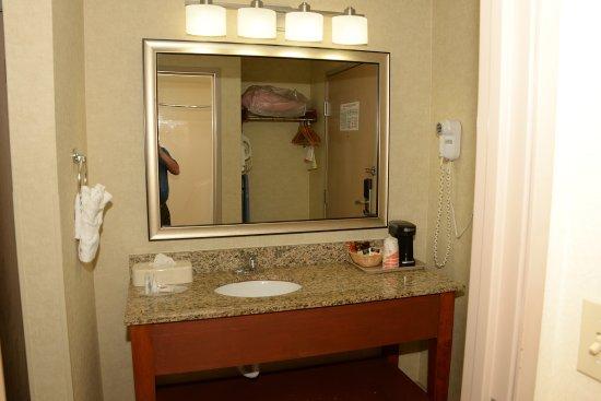 Comfort Inn Near Greenfield Village: Wash basin