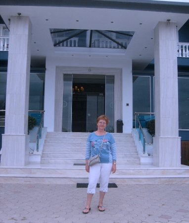 Korinos, Griekenland: Main entrance.