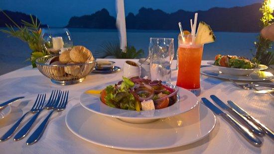 Tanjung Rhu Resort Dinner By The Beach