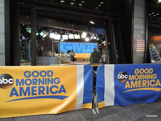 Good Morning America United Airlines : Good morning america studios new york city all you