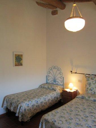 B&B A Casa di Lizzy: La camera azzurra. The blue bedroom, La chambre bleue