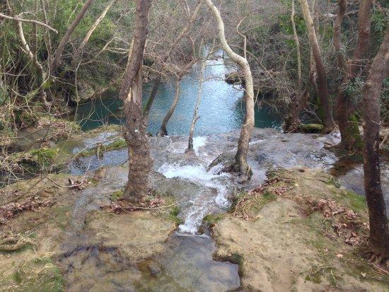 Kursunlu Waterfalls: View from the big bridge
