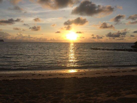 Mamora Bay, Antigua: Sunrise