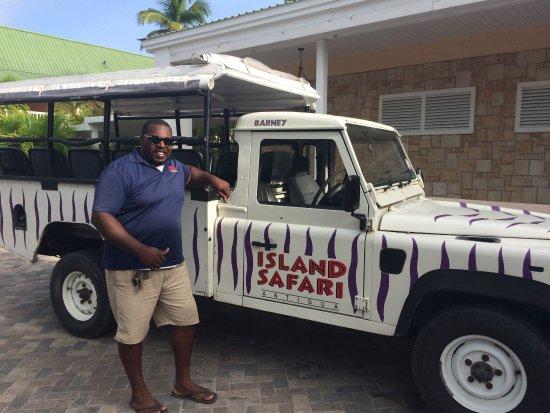 Mamora Bay, Antigua: Island Safari