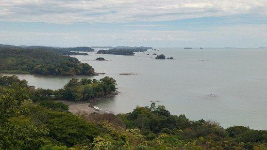 Isla Boca Brava, Panamá: Viewpoint looking seaward