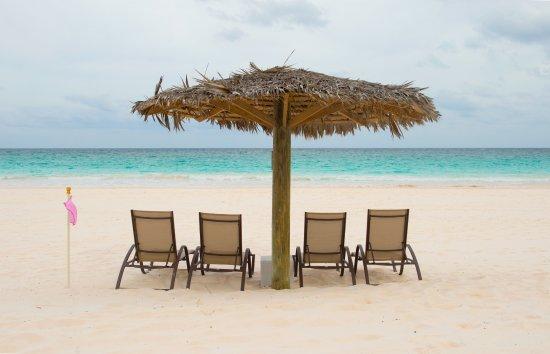 Beach Cabana At Pink Sands Resort