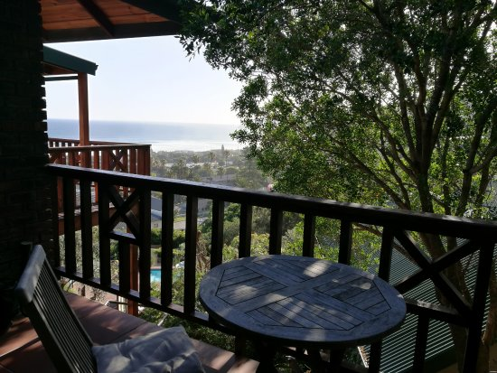 Boardwalk Lodge: Gorgeous see view from the private balcony