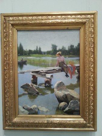 Turun taidemuseo: Gunnar Berndtson, Kesä vuodelta 1893