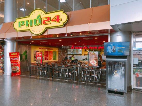 Phở 24: ダナン空港内(国内線)にもありました。