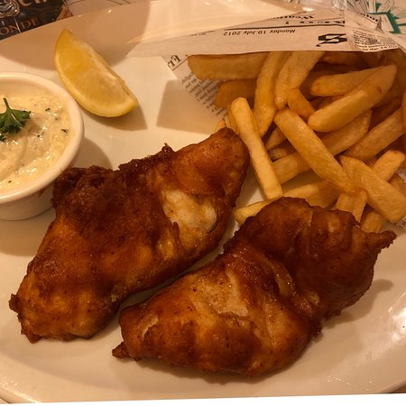 Leon De Bruxelles: Fish & chips