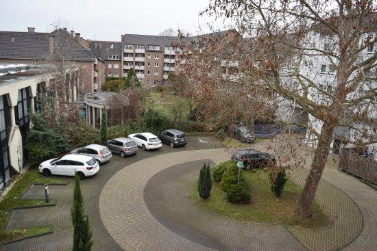 Ibis Bonn: view from wondow