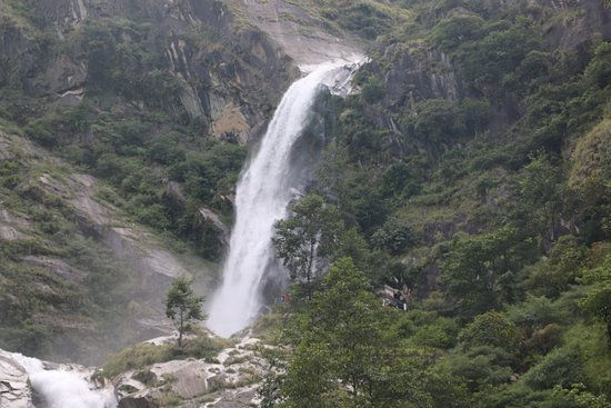 Jomsom, เนปาล: Rupse falls - Dana VDC