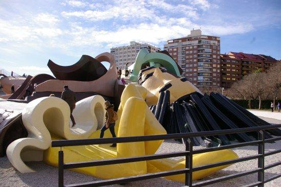 Parque Gulliver: Vue de la tête