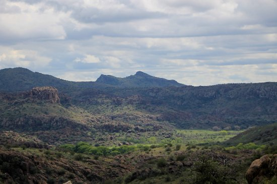 Fort Davis, TX: The vistas are breathtaking. View from Modesta Canyon Trail.